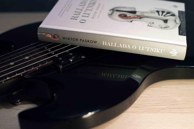 Ballada o lutniku - książka